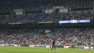 The Bernabeu stands during Real Madrid vs Getafe