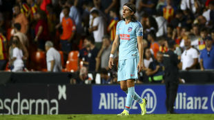 Filipe, in Mestalla.