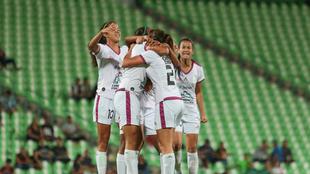 Diana García marcó el gol de la victoria.