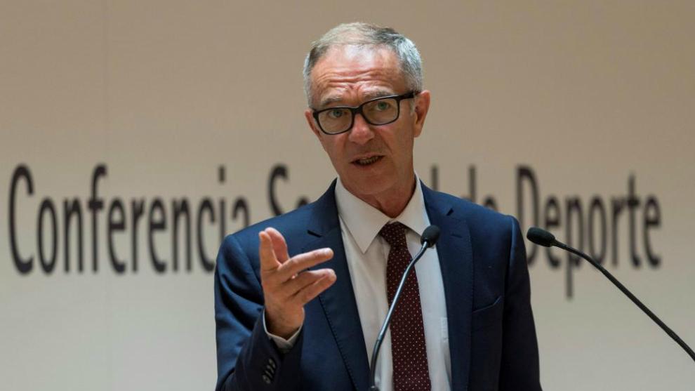 El ministro de Cultura y Deportes José Guirao