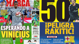Tuesday's headlines: Vinicius, Rakitic danger, 50 million euros for...