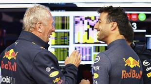 Marko, junto a Ricciardo