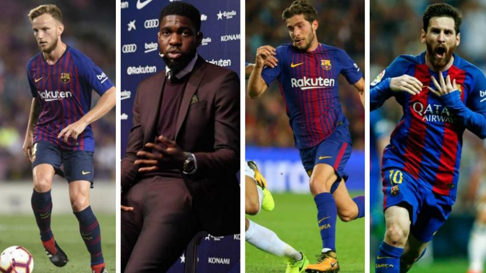 Barcelona's key players