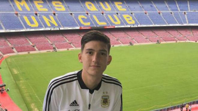 Boca Juniors teenager Balerdi