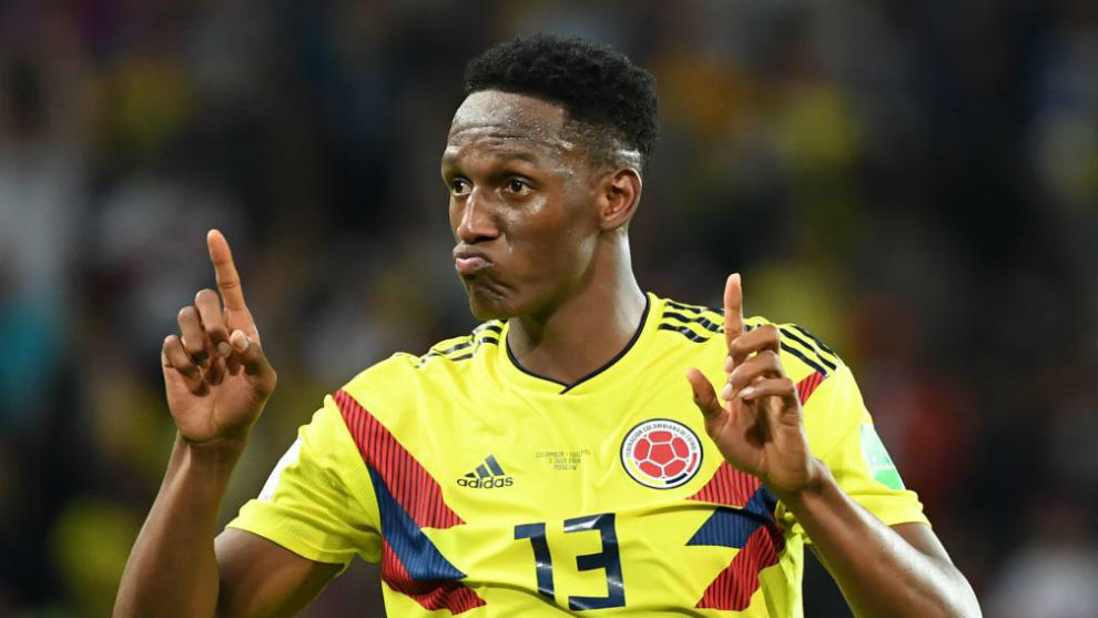 FC Barcelona Colombian centre-back, Yerry Mina