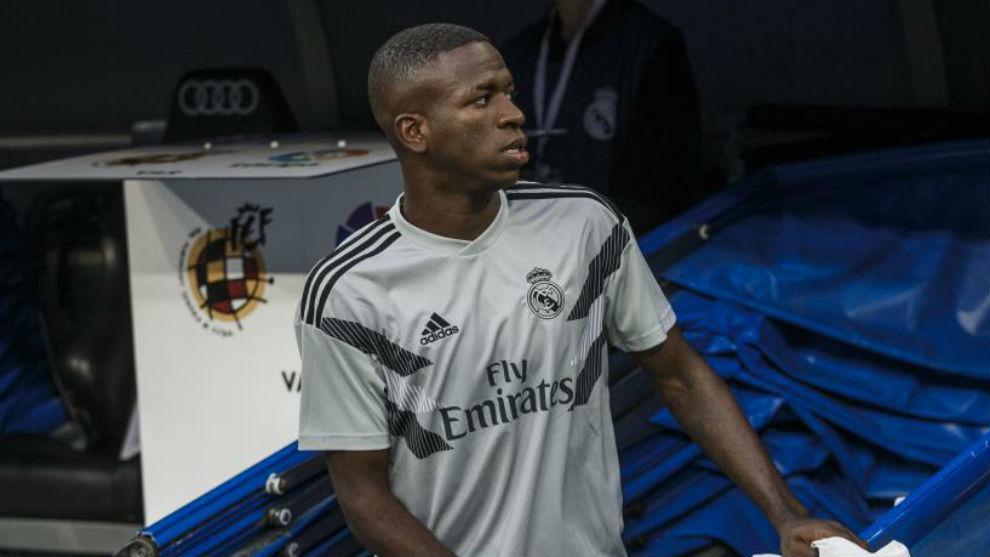Real Madrid starlet Vinicius Junior.