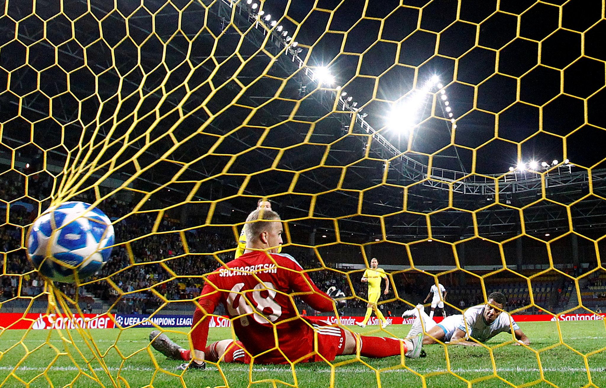 El gol del triunfo de Malen.