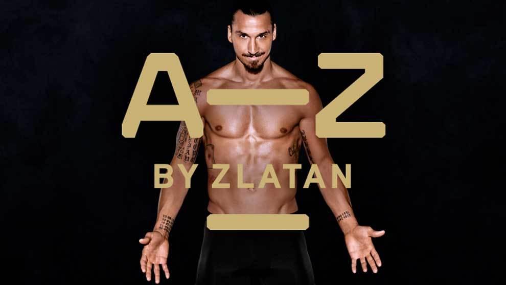 Zlatan Ibrahimovic anunciando su marca A-Z