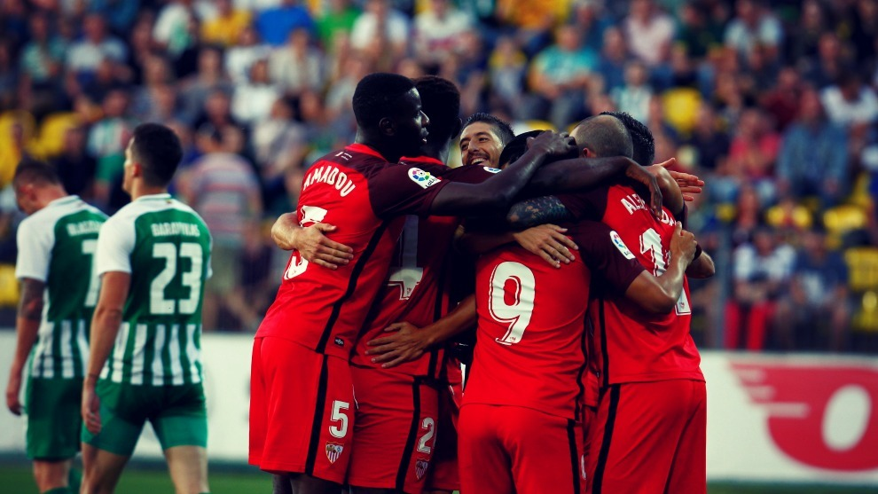 El Sevilla es favorito para pasar la eliminatoria ante el Sigma...