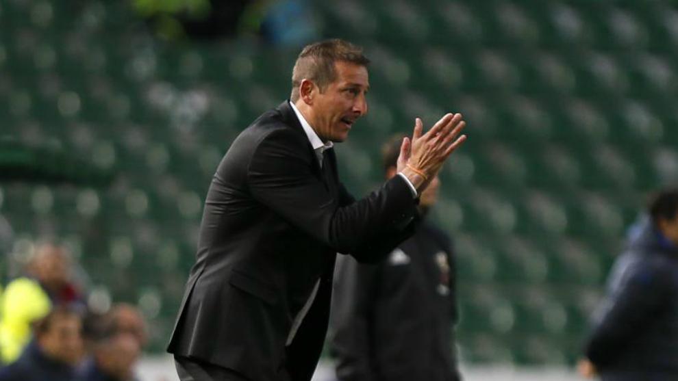 Luis Miguel Ramis, entrenador del Albacete