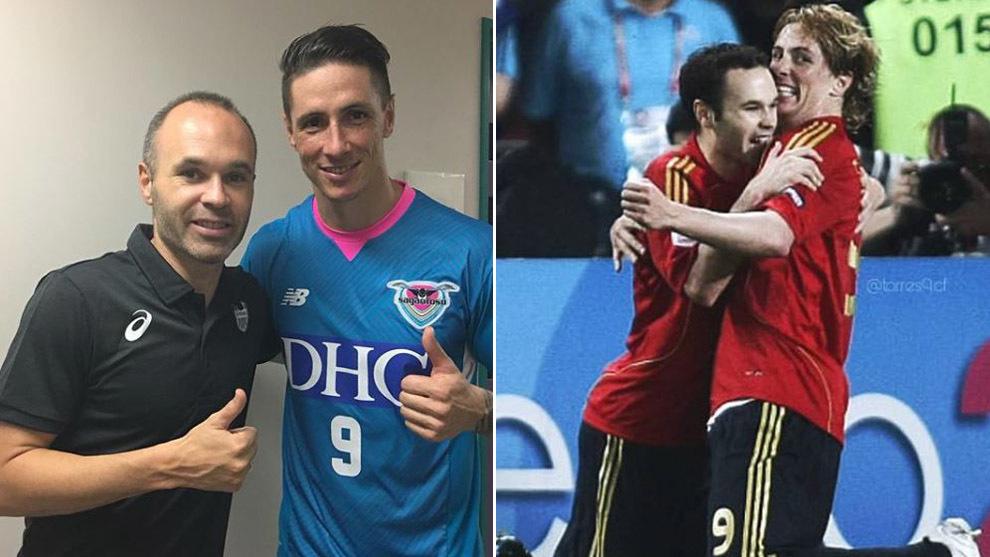 Torres' heartwarming message to Iniesta