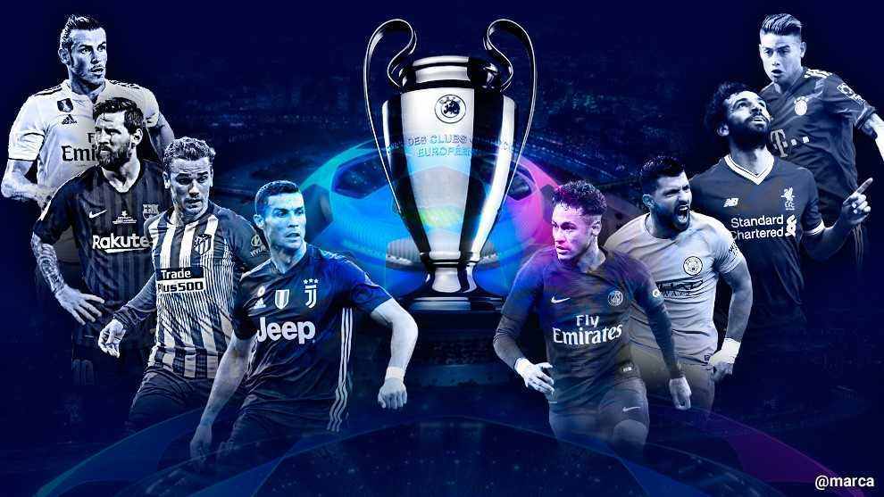 Juve Champions Calendario.2018 19 Champions League Starting Lineups For The Main
