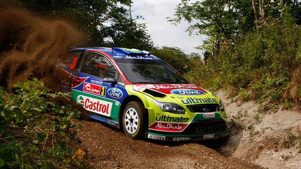 Mikko Hirvonen ganó dos ediciones consecutivas con Ford (2007 y...