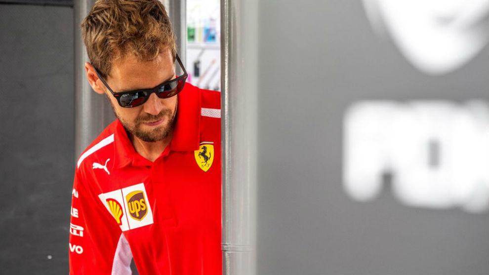 Vettel ganó en Bélgica y recortó la distancia de Hamilton