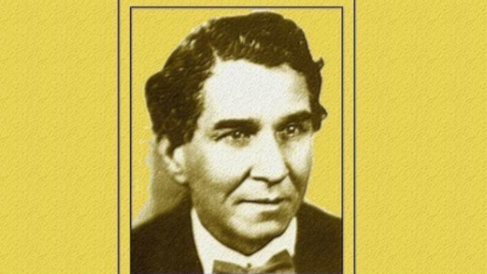 M.P. Shiel, en la portada de una de sus obras.