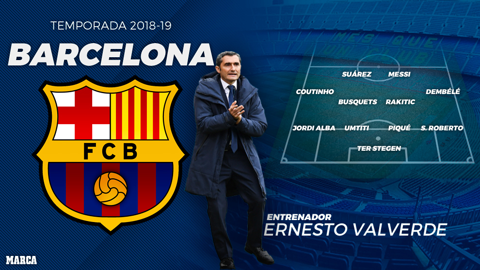 Barcelona have the best XI in Europe