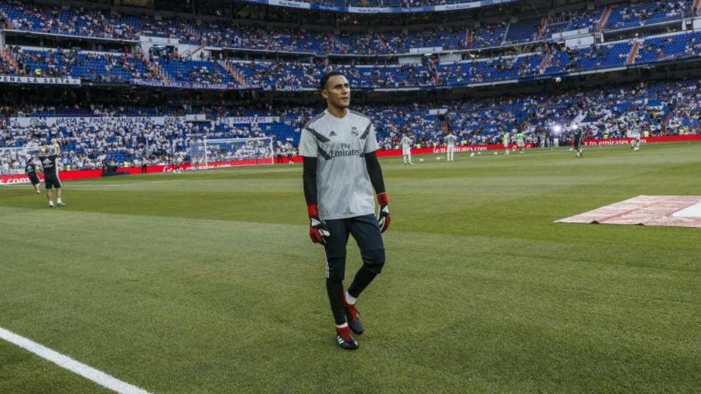 El Instagram del Real Madrid anunció la titularidad de Courtois en Montilivi