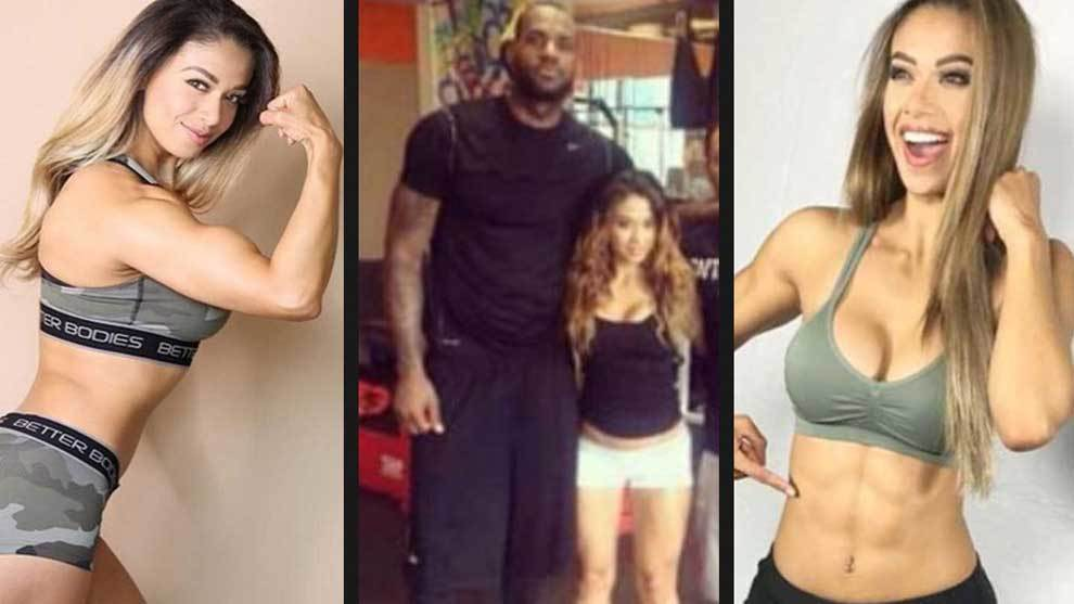 Lais DeLeon, la preparadora física que puso a tono a LeBron James
