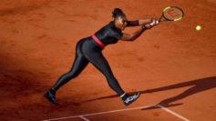 Roland Garros prohíbe el traje posparto de Serena Williams