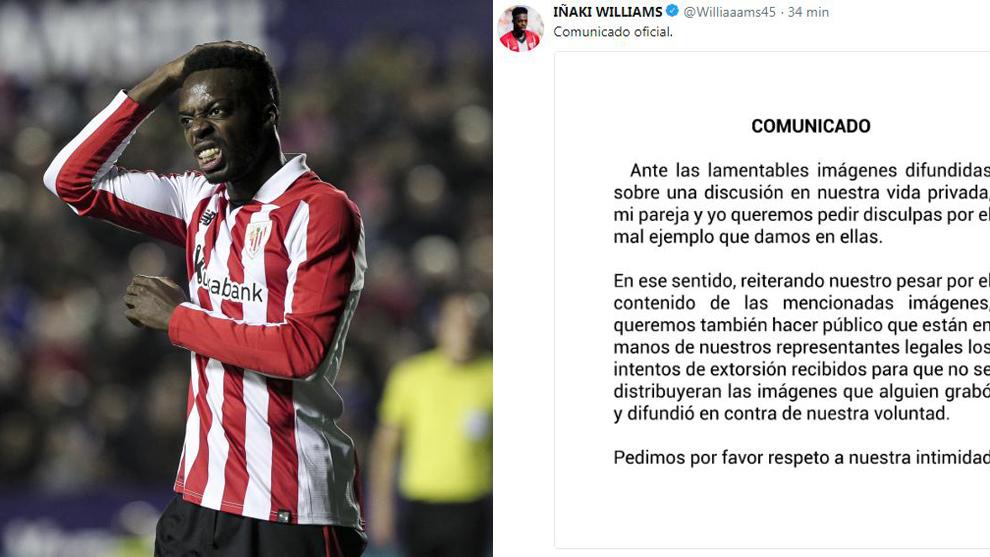 Athletic Bilbao striker Inaki Williams