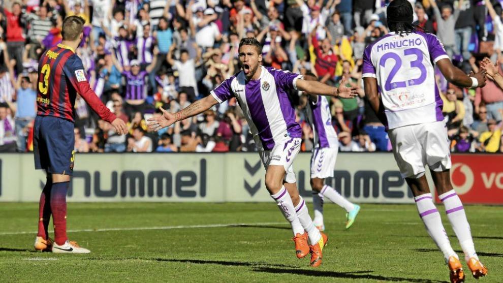 El Barça perdió (1-0) en su última visita al Real Valladolid.