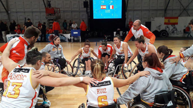La selección española celebra su histórica séptima plaza en el...