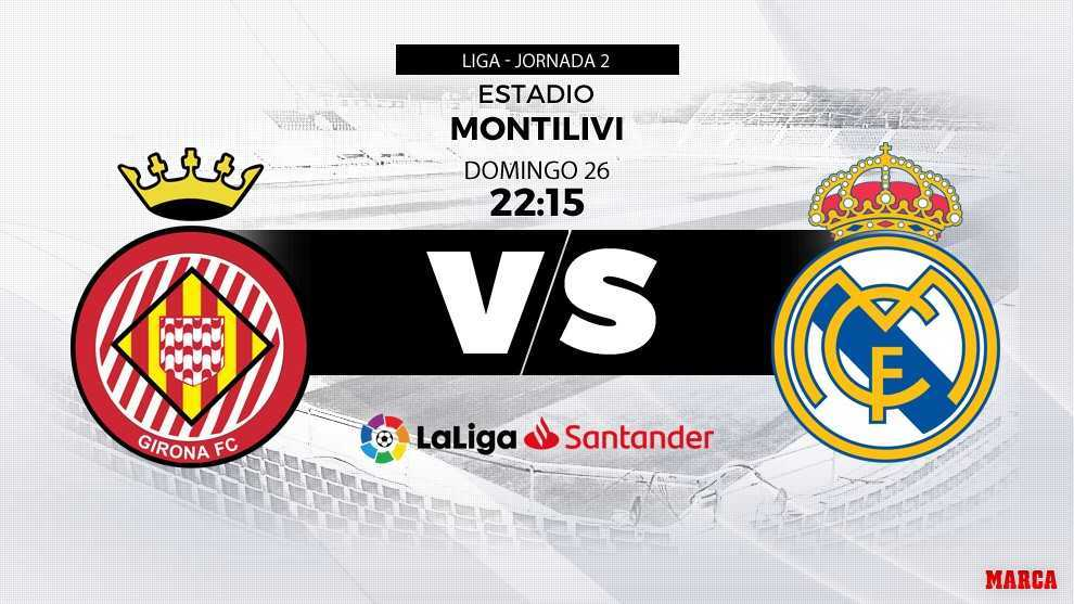Girona vs Real Madrid: Courtois in the XI