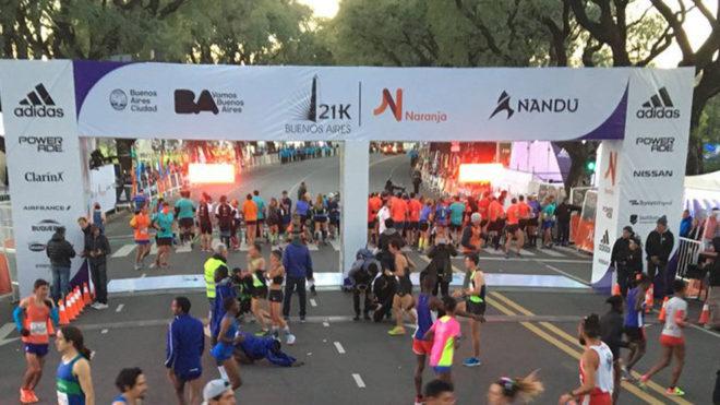Medio maratón de Buenos Aires