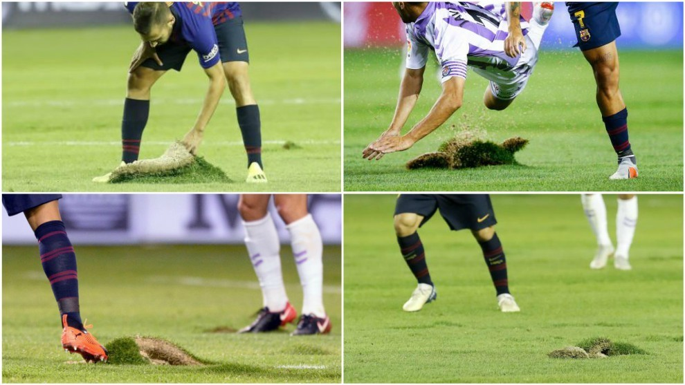Why did the Valladolid pitch look so bad?