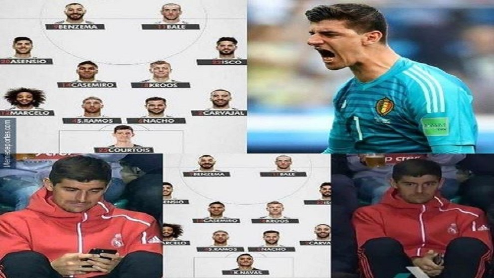 The best memes from Girona vs Real Madrid: With Courtois a focal point