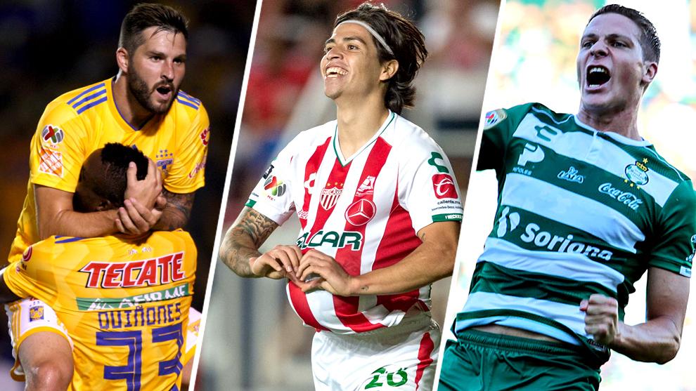 Estos son los 10 mejores goleadores del Apertura 2018