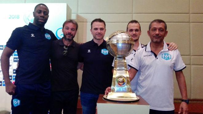 Buele Mpa, Antonio Falcó, Ricardo Iñiguez, Jordi Durán y Esteban...