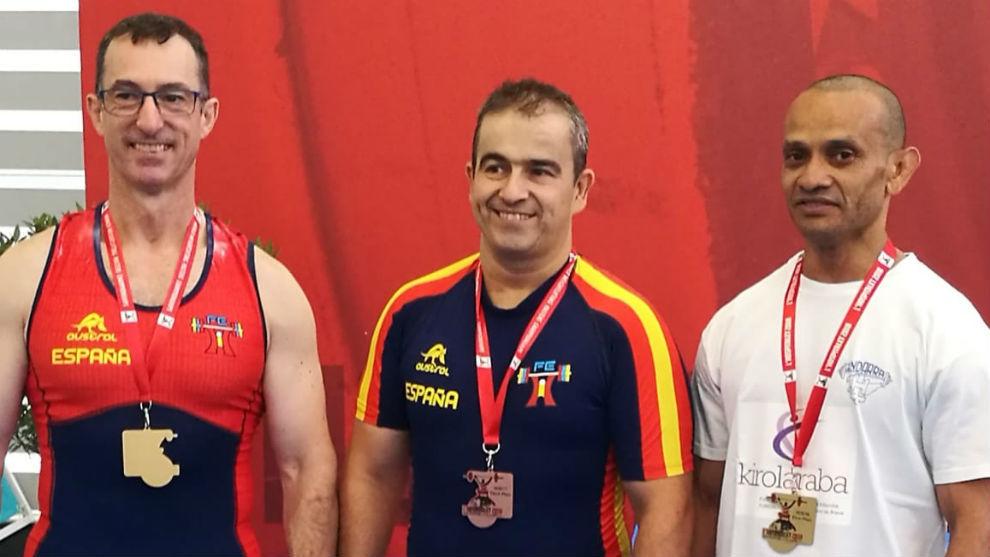 Fernando Gracia, Carlos Aranda y Josue Farfán.