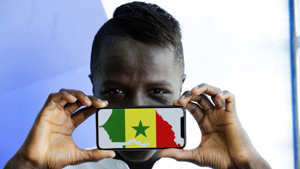 Amath ha sido convocado por primera vez con la selección senegalesa.