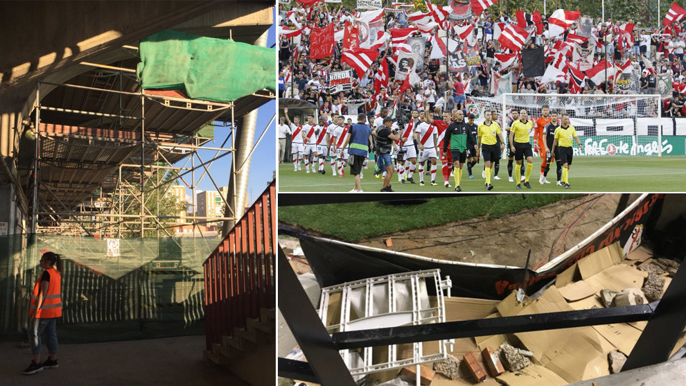 Estadio de Vallecas will be closed until mid-October