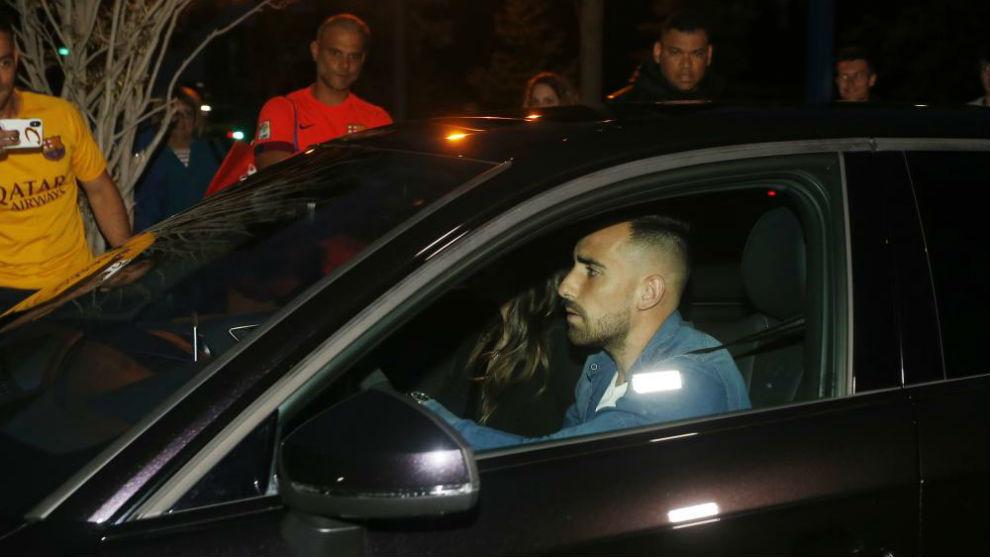 FC Barcelona forward Paco Alcácer.