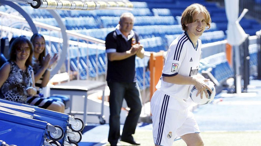 Modric celebrates his six year anniversary at Real