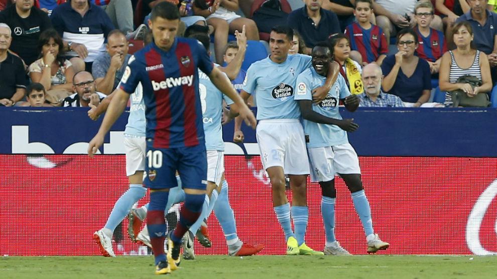 Celta Vigo find goal-scoring touch