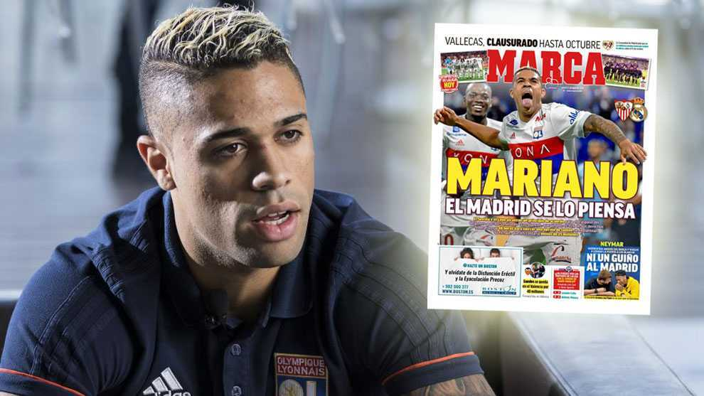 Real Madrid think again about signing Mariano