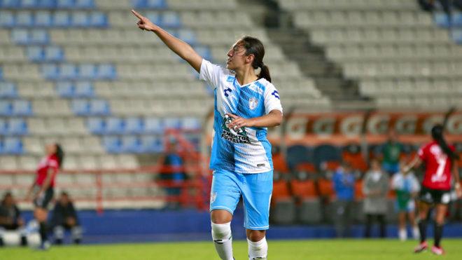 Fátima Arellano marcó el gol del triunfo.