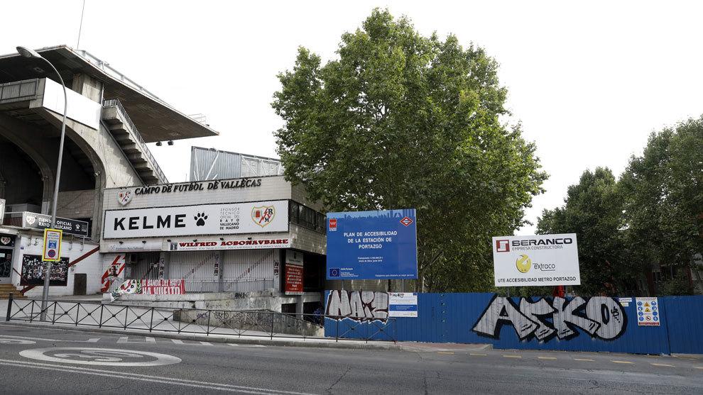 Rayo Vallecano's Estadio de Vallecas