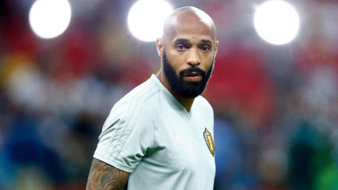 Henry, con Bélgica durante el Mundial.