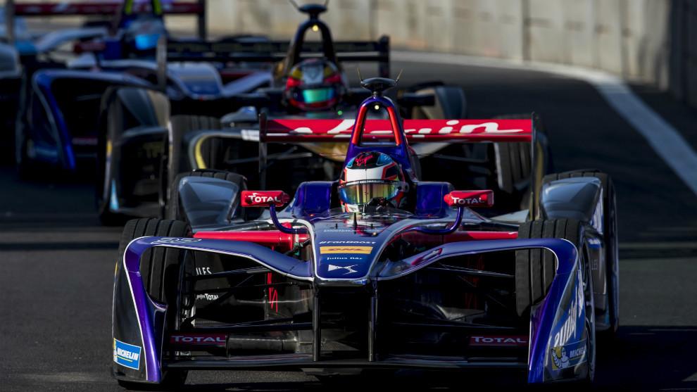 'Pechito' López (DS Virgin Racing), durante el e-Prix de México 2017