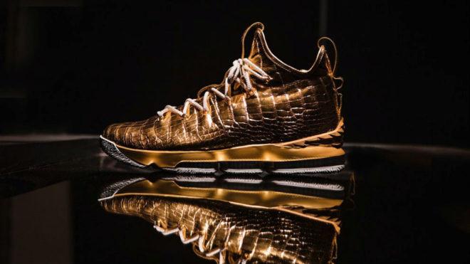 Las zapatillas de LeBron James de 100.000 dólares