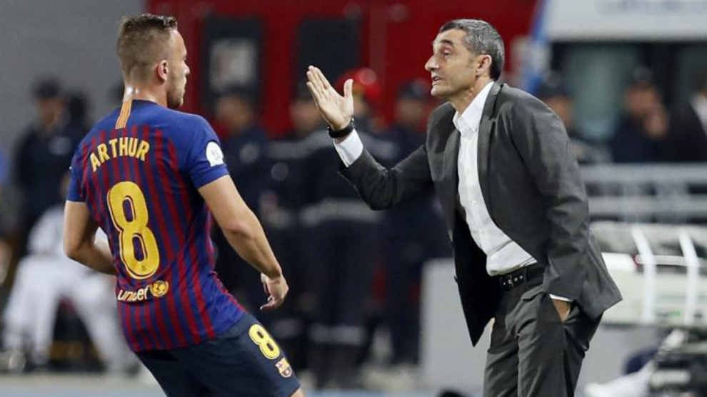 Laliga Santander Fc Barcelona Arthur Melo A Model Of Integration Marca In English