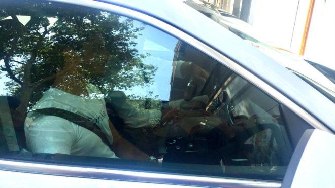 Guedes llega a la sede del club por segunda vez acompa
