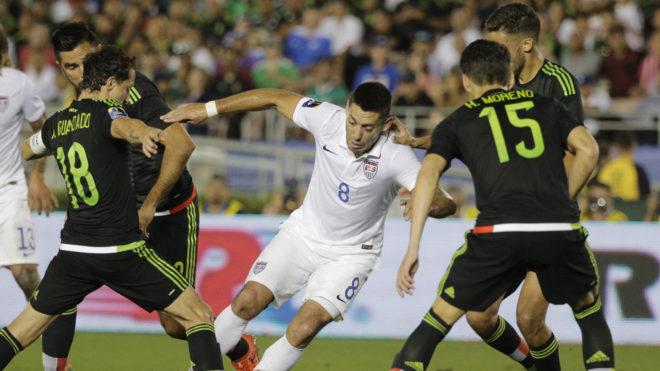 Dempsey en su último enfrentamiento ante México