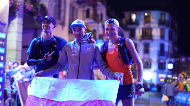 Dylan Bowman, Marcin Wierc y Dmitry Mityaev.