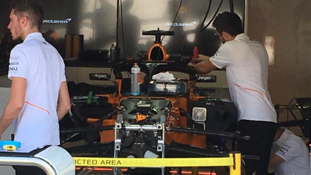 MCL33 de Fernando Alonso