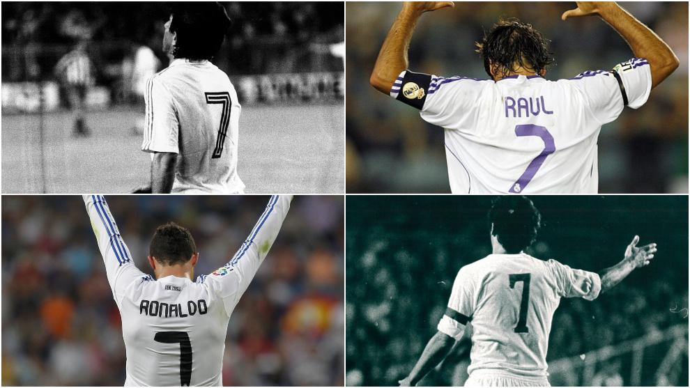 f21715b15536b Los  7  del Real Madrid antes de Mariano - Conoce los jugadores que ...